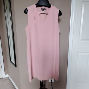 Straight and chic blush pink DKNY dress, size L